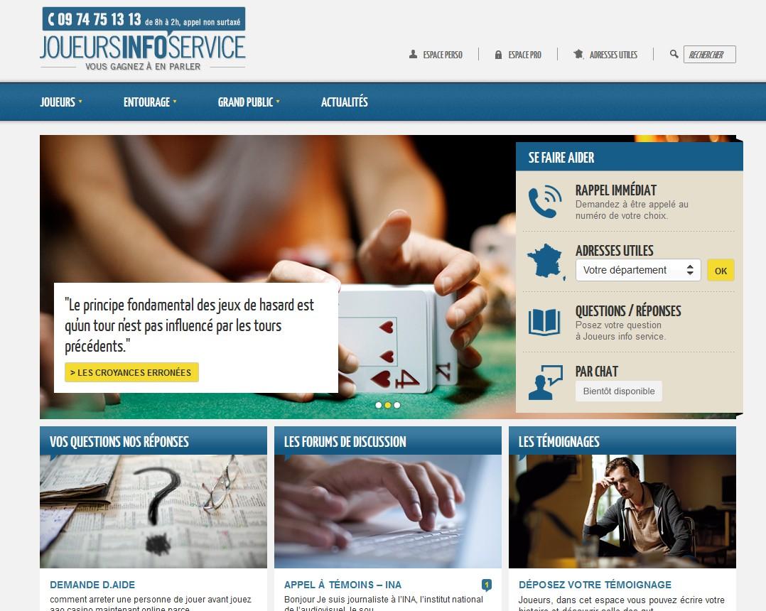"""""""Joueurs Info Service"""", un portail internet interactif pour les accros aux jeux"""