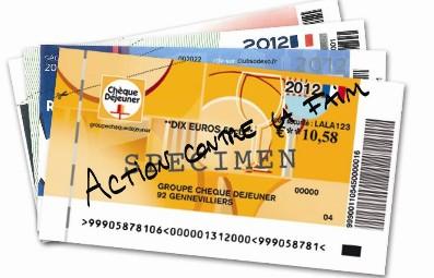 tickets resto périmés pour action contre la faim