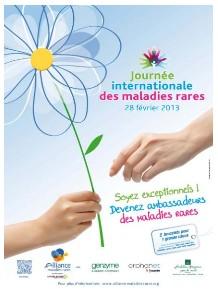 La Journée internationale des maladies rares se déroule Jeudi 28 février 2013