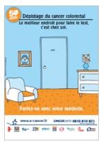 Cancer colorectal: lancement de l'opération Mars bleu 2013