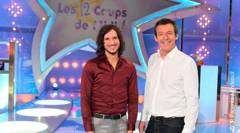 XAVIER devient le 4ème Maître des 12 Coups de Midi sur TF1 - production Endemol