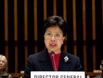 Le Dr Margaret Chan, Directeur général de l'OMS