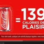 Obésité: Coca-Cola part en campagne