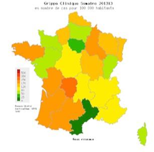 Grippe : la fin de l'épidémie 2012-2013 confirmée