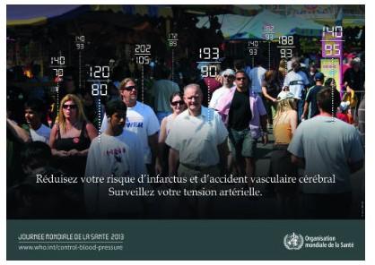 Journée mondiale de la santé 2013 : l'hypertension artérielle peut être évitée