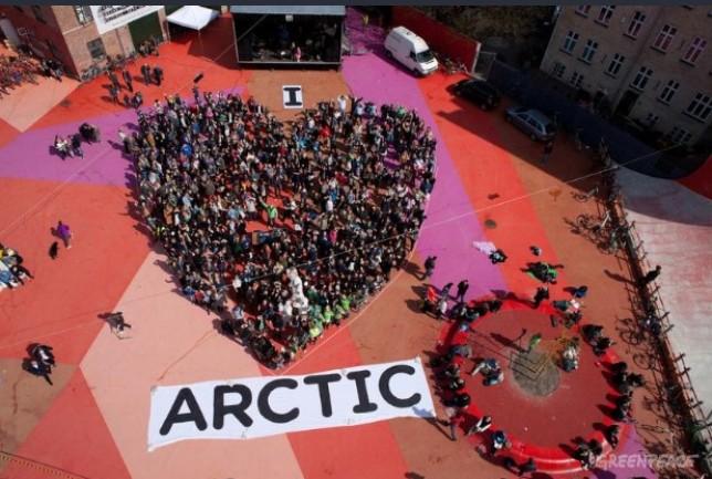I love Arctic - Green peace 3
