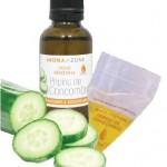 Comment diminuer l'acné avec de l'huile végétale de concombre ?