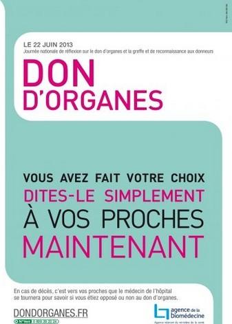 Le cap des 5.000 greffes d'organes franchit en France en 2012
