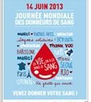 Journée mondiale des donneurs de sang: une chaîne transfusionnelle sous surveillance