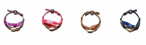 Des bracelets porte-bonheur Hipanema créés en exclusivité pour la Fondation Arthritis !