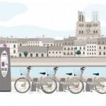 Vélib' part à la conquête des touristes à Paris