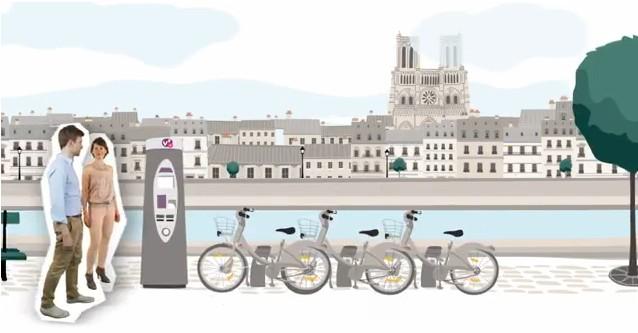 Vélib' à Paris