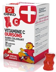 vitamine C enfant en ourson