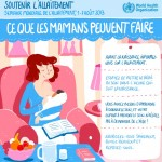 Semaine mondiale de l'allaitement maternel du 1er au 7 août 2013