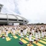 Yoga : séance de yoga géante à Paris !