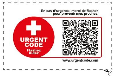 étiquette urgent code