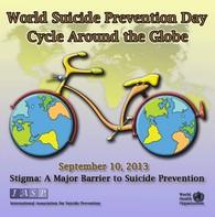 La Journée mondiale de prévention du suicide se déroule le 10 septembre 2013