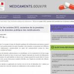 Médicaments : la base de données publique sur internet à partir du mardi 1er octobre