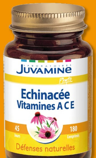 Echinacée Vitamines A, C, E (Laboratoires Juvamine Phyto)