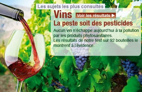 que choisir enquete vin bio