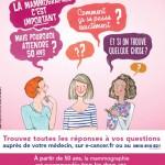 Octobre rose 2013 : une campagne invitant les femmes à s'informer
