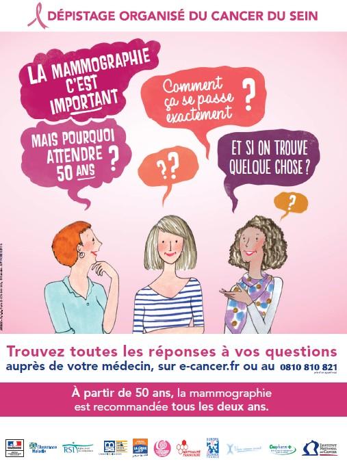 Octobre rose 2013 : Paris se mobilise pour le dépistage du cancer du sein