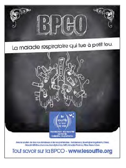 Journée mondiale de la BPCO : 9 Français sur 10 ne connaissent pas la maladie