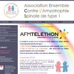 L'association Eclas lance un site pour les familles confrontées à l'Amyotrophie Spinale de type 1