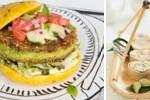 Veggie burger vs Sushi végétarien