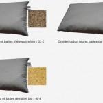 Un oreiller en céréales bio, ça vous tente ?