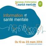 Les Semaines d'information sur la santé mentale du 10 au 23 mars 2014
