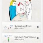 Dépression : une application mobile pour en parler