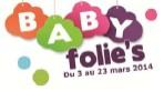 Les «Baby Folie's» commencent !