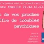 Troubles psychiques : 9 000 appels traités en 2013 par Écoute-famille