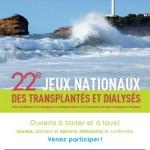 Don d'organes : 22e Jeux Nationaux des Transplantés et Dialysés
