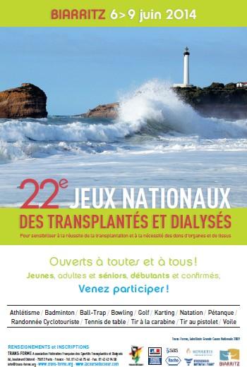 22e Jeux Nationaux des Transplantés et Dialysés