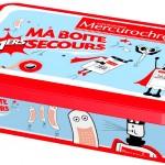 Pratique et jolie, la boîte de 1ers secours Mercurochrome