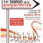 Save the date : Salon de la Polyarthrite et des rhumatismes inflammatoires chroniques