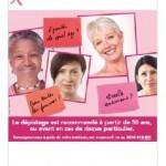 Octobre rose 2014 : une nouvelle campagne d'information sur le dépistage organisé du cancer du sein
