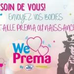 Envoyez vos bodies taille Préma ou Naissance !