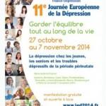 Dépression : une Journée Européenne pour mieux comprendre