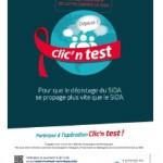 VIH / Sida: devenez le messager du « geste qui sauve » avec Clic'n test