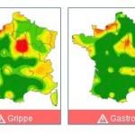La gastro et la grippe franchissent le seuil de l'épidémie en France
