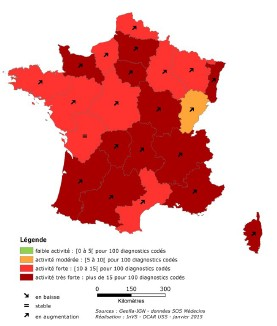 Grippe : l'épidémie déclarée dans toutes les régions de France