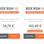 Le running a enfin sa box mensuelle
