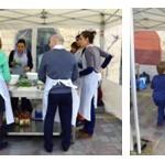 Cours de cuisine en plein air pour enfants et adultes
