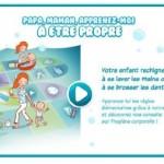 Un jeu en ligne pour apprendre l'hygiène corporelle aux l'enfant