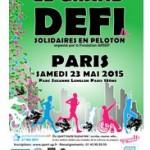 « Le Grand Défi Solidaires En Peloton », le samedi 23 mai 2015 à Paris