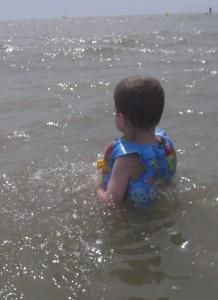 noyade - sécurité enfant à la mer © 24Hsante.com