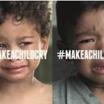 #MAKEACHILDCRY : 4 millions d'enfants meurent de maladies évitables